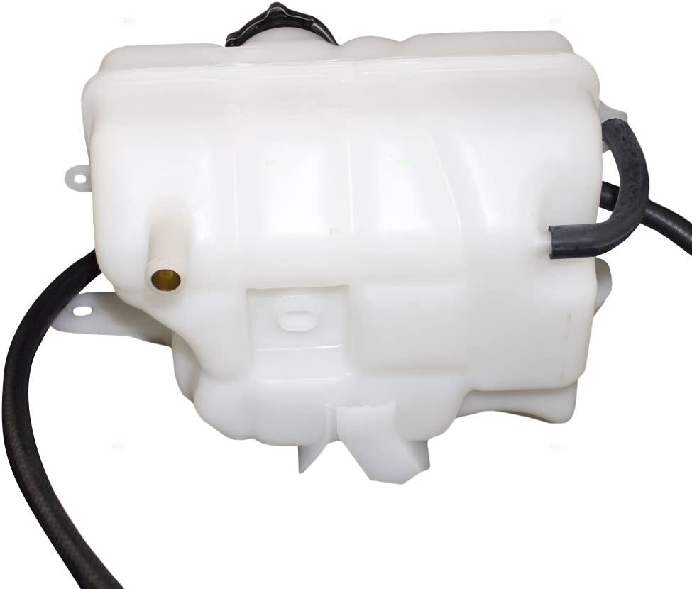 Replacement Coolant Overflow Expansion Recovery Tank Reservoir Bottle with Cap Compatible with Liberty 3.7L 52079788AE