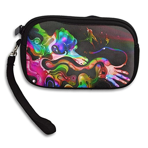 Bag Art Small Deluxe Purse Portable Printing Abstract Receiving Colorful 5Fw1qF8