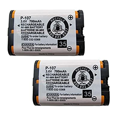 GEILIENERGY 3.6V Home Phone Battery For Panasonic HHR-P104, HHR-P104A, KX-FG6550, KX-FPG391,KX-TG2388B KX-TG2396 Panasonic Phone Replacement