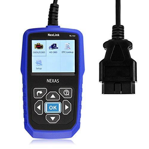 Nexas Heavy Duty Truck Scanner Nl102 Obd Eobd Hdobd Diagnostic Scanner Scan Tools Engine Abs Transmission Check Trucks   Cars 2 In 1 Codes Reader