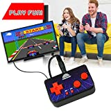 Funderdome Retro Game Console, Arcade Console, Retro Mini TV Console, Mini Arcade Game, Retro Arcade, 200 Games, 10ft RCA Cable (Included) for TV