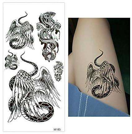 ruofengpuzi Adesivo tatuaggioEtiqueta engomada del Cuerpo del ...