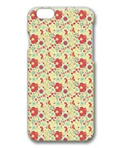 Armener Hard Protective 3D iPhone 6 Plus (5.5 inch) Case With Cute Flowers Pattern Background wangjiang maoyi by lolosakes
