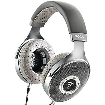 Focal CLEAR Over-Ear High-Resolution Audiophile Headphones (Gray)
