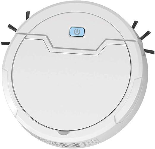 INTELZY Robot Aspirador 3 en 1: Barre, Aspira y Friega, Súper Fuerte Succió, para Barrer y Aspirar en Todo Tipo de ...