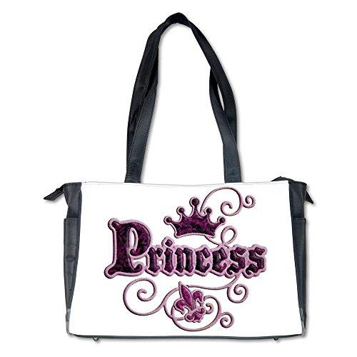 Diaper Bag Fleur De Lis Princess