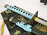 S0507 BLEACH 6TH DIVISION CAPTAIN KUCHIKI BYAKUYA SENBONZAKURA SWORD SKYBLUE 41""