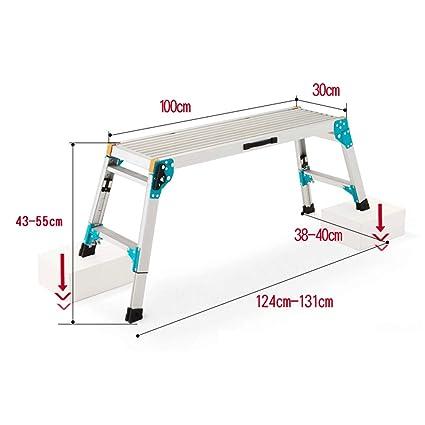 Superb Amazon Com Ladder Zhirong Folding Step Hop Up Aluminium Ncnpc Chair Design For Home Ncnpcorg
