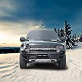 "Car Windshield Snow Cover By Mak Tools,Extra Large Size for Most Vehicle,72""x57""With Mirror Snow Covers"