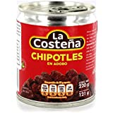 La Costeña Chipotle Chilies in Adobo Sauce 220g