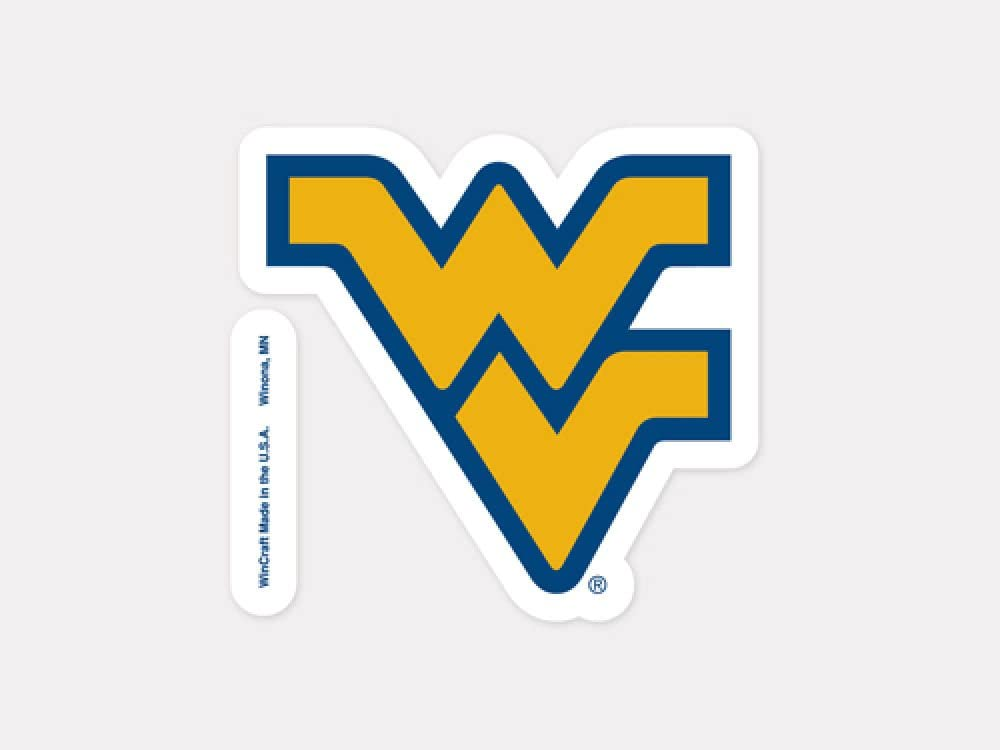 WinCraft NCAA West Virginia University Perfect Cut Color Decal, 4