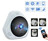 Mbangde 360 Degree Panoramic IP Camera, 960P 3D VR WI-FI Camera, 1.3MP FIsheye Wireless Smart Camera Hand Cruise Motion Detection