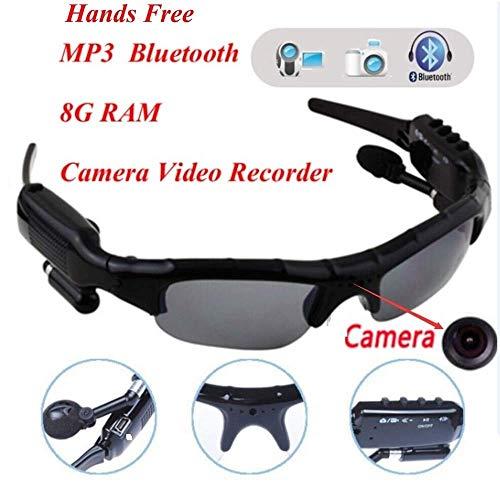 OUCOU New Sport Wireless Bluetooth Camera Eyewear Sunglasses with 8G RAM Video Recorder DVR DV Camcorder ()