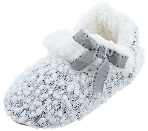 Chinese Women's Bootie Grey Knit Laundry Slippers YYr0q4n