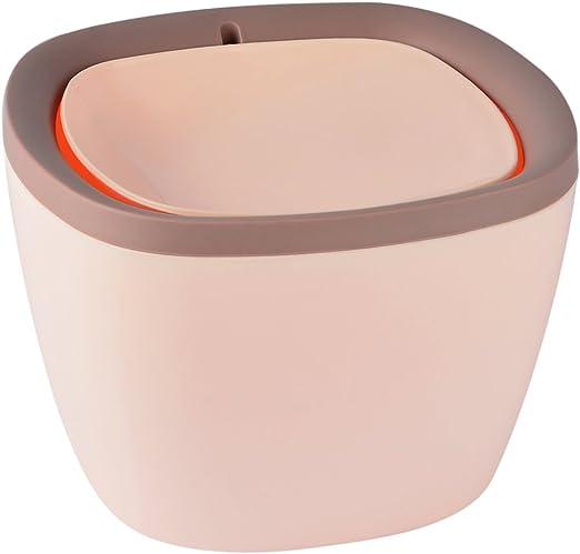 FOKOM Mesa – Cubo de Basura con Tapa, Mesa Cubo de Cocina Cubo de ...