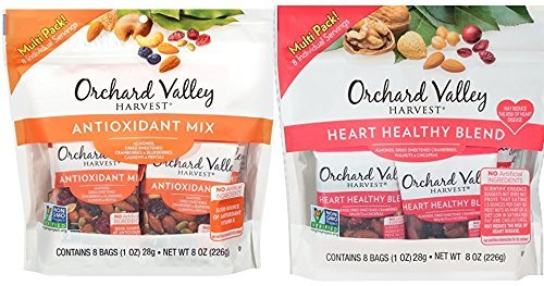 ORCHARD VALLEY HARVEST Antioxidant Mix and Heart Healthy Blend Multi Pack by Orchard Valley Harvest