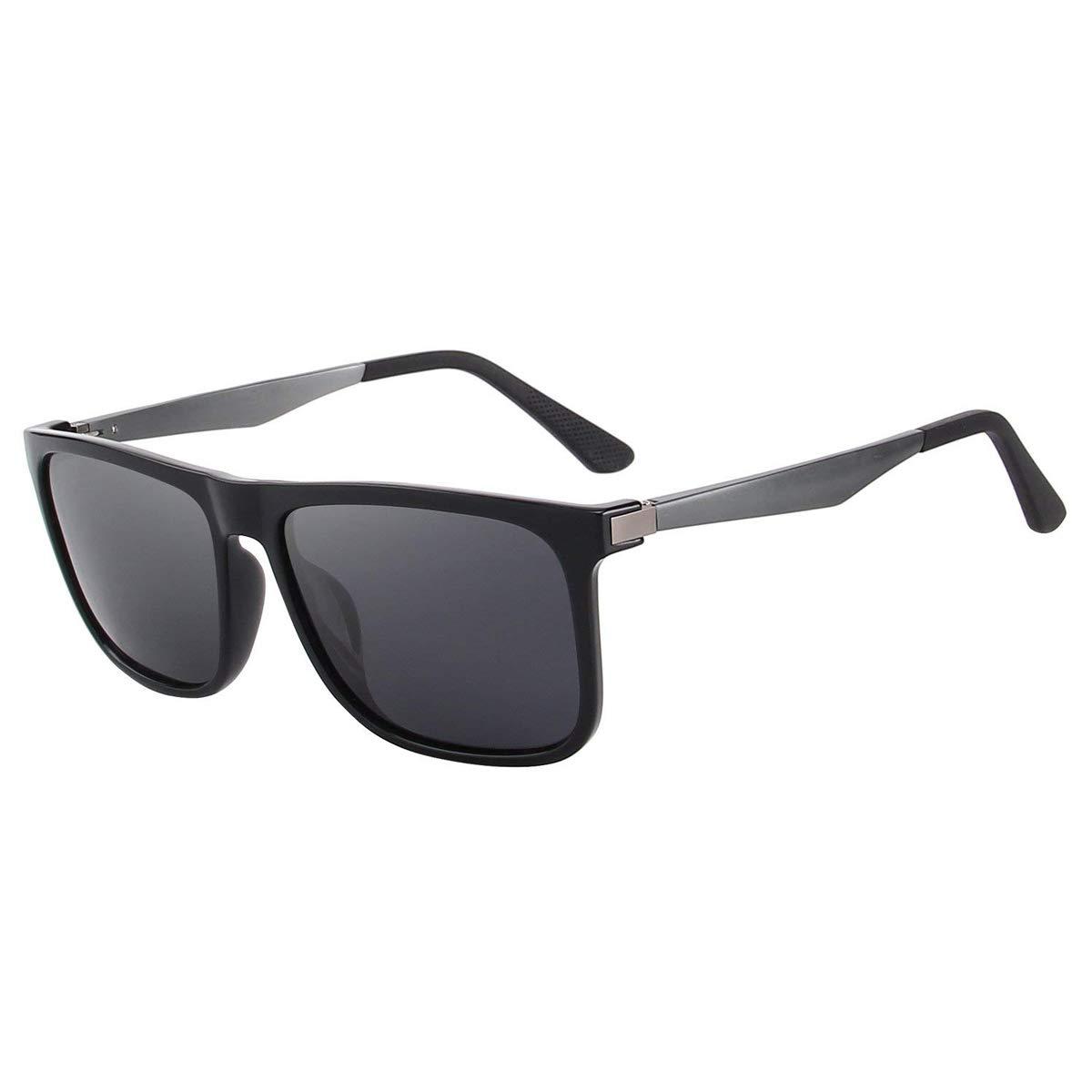 04bb2094c1 CHEREEKI Gafas de sol Hombre Mujer Polarizadas UV400 Protection Clásico  Retro Gafas product image