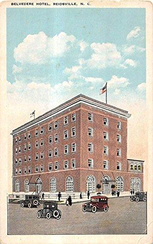 Reidsville North Carolina Belvedere Hotel General View Antique Postcard V11290