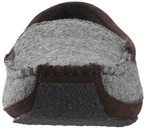 Woolrich Mens Heft Moccasin Ash Wool