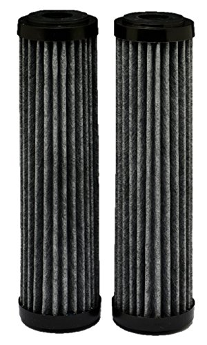 Whirlpool WHA2FF5 Standard Capacity Premium Carbon Whole Home Water Filter - 2 Pack -