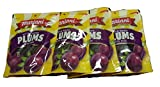 Mariani Pitted Dried Plums Bite Size, 6 Oz Bag (4 Packs)