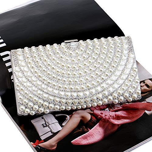 Mujer Plata plateado Bolso 2 Bestwaled Para Al Yhb468 Hombro aSTq7z