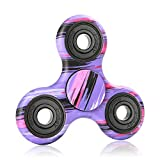 NOING Tri Fidget Hand Spinner Camouflage Multi-Color Double Side Printed, EDC Focus Toy For Kids & Adults (Lost world)