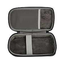 co2CREA Hard EVA Storage Carrying Travel Orginazer Case Bag for Graphing Calculator Texas Instruments TI-84 / Plus CE and more