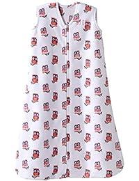 Sleepsack Micro-Fleece Wearable Blanket, Pink Owl, Large