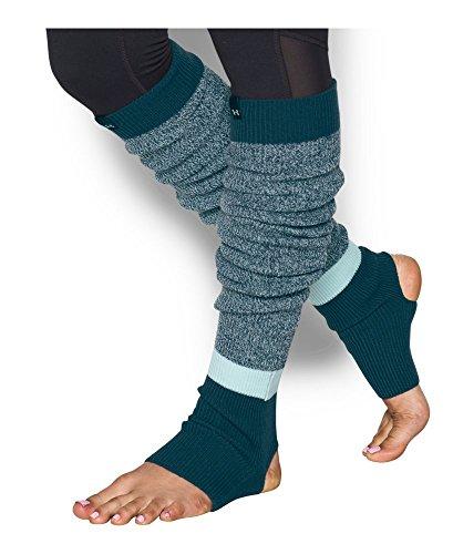 Under Armour Women's Essentials Leg Warmers, Aqua Falls/Nova Teal, One Size -