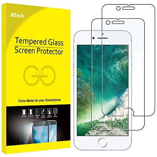 JETech Screen Protector for Apple iPhone 8 Plus and iPhone 7