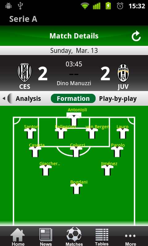 Amazon.com: Italian Serie A 2011/12: Appstore for Android