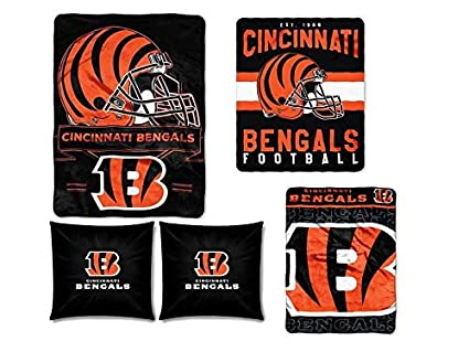 Amazon The Northwest Company NFL Cincinnati Bengals 40pc Stunning Nfl Blankets And Throws