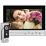 Video Doorbell,9' LCD Monitor Wired Video Doorbell Phone Intercom System WOLILIWO Video Intercom and HD Camera for Home Improvement Office Apartment Intercom Video Security(220V&Waterproof)