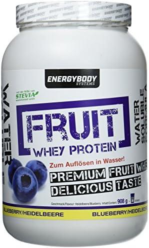 Energybody Fruit Whey Protein Heidelbeere, 908 g