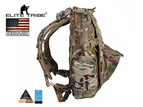 Elite Tribe Tactical Yote Hydration Assault Pack Water Bag Cordura Backpack 500D Multicam