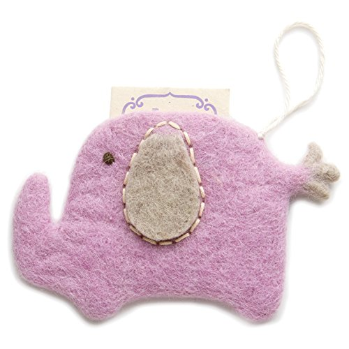Hallmark Gift Card Holder (Felt Elephant Pouch)