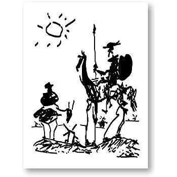 Amazon Com Pablo Picasso Framed Art Print Don Quixote