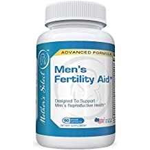 Men's Fertility Aid by Mother's Select for Motility, Male Health, and Raising Testosterone, Natural Ingredients, 90 Vegan Capsules, 30 Day Supply