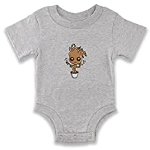 Dancing Baby Groot Infant Bodysuit by Pop Threads