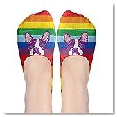 Boston Terrier Pride Women No-Show Casual Liner Socks Low Cut Ankle Socks Boat Socks