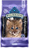 BLUE Wilderness Kitten Grain Free Chicken Dry Cat Food 5-lb