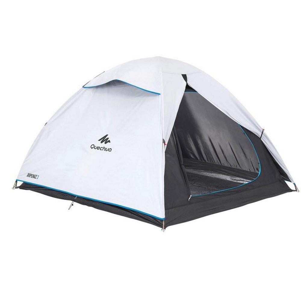 Decathlon Quechua tienda de campaña para familia de persona ARPENAZ 3 FRESH & BLACK WHITE: Amazon.es: Deportes y aire libre
