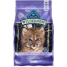 Blue Buffalo Kitten 100-Percent Grain Free Chicken Formula Dry Cat Food, 2 lb Bag