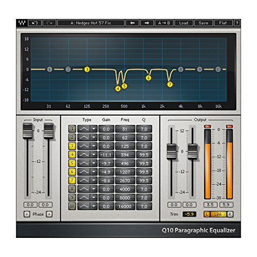 Waves Q10 Equalizer AAX + Mixing Lessons + Fast eDelivery!