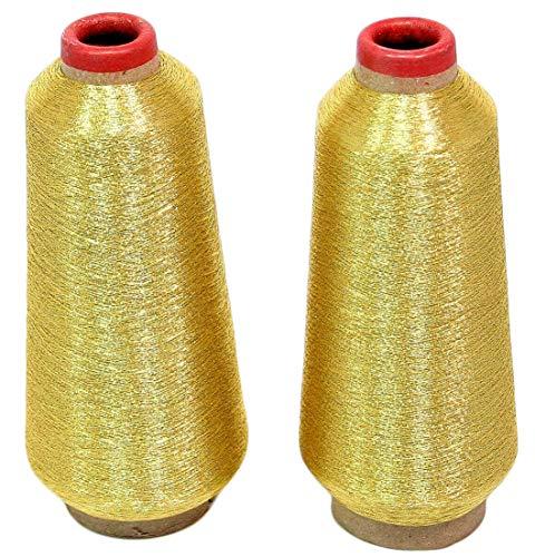 ThreadNanny Gold Metallic Machine Embroidery Threads - 10000