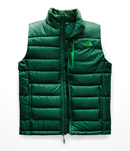 The North Face NF0A2TCD Men's Aconcagua Vest, Botanical Garden Green - M