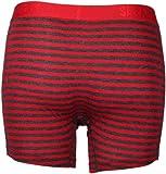 Saxx Underwear Men's Vibe Boxer Modern Fit Red