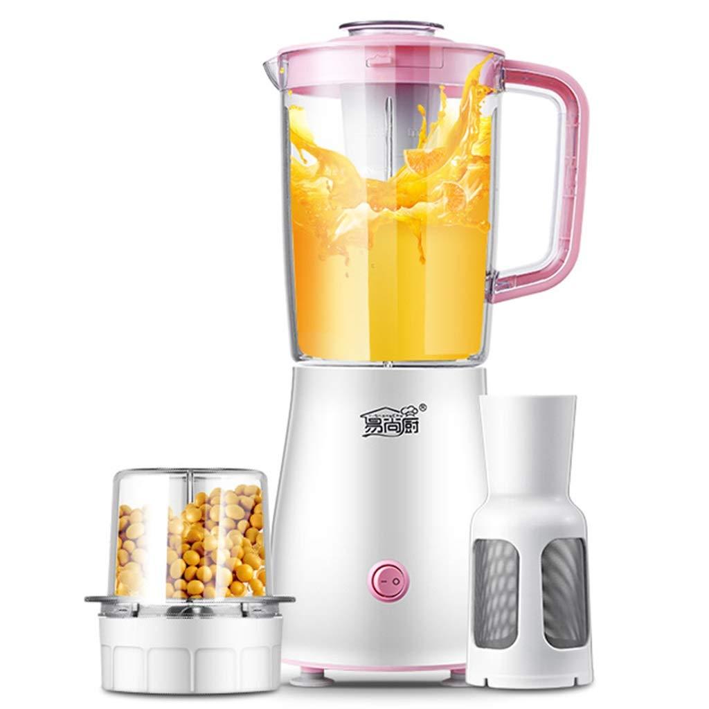 Kitchen Appliances Exprimidor de la casa, exprimidor automático de Frutas y Verduras, Taza de Jugo de Gran Capacidad, máquina de cocción multifunción (Color ...