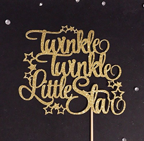 Twinkle Twinkle Little Star Cake Topper, Little Star Party Cake Topper, Star Cake Topper, Star Party